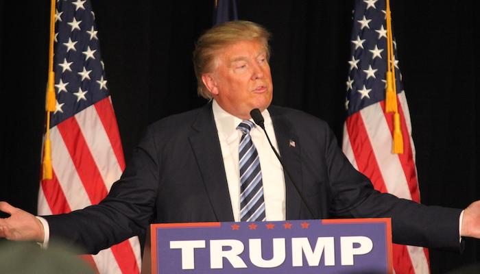 Donald Trump, door Matt Johnson, via Flickr.
