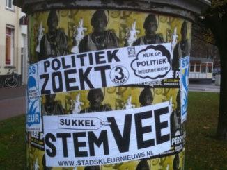 Politiek zoekt stemvee, door Marco Derksen, via Flickr.