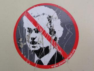 fout Wilders FOEI verboden, door Erik bij de Vaate, via Flickr.
