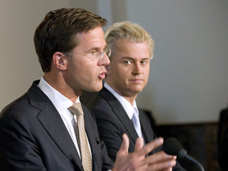 Mark Rutte en Geert Wilders, door Minister-president Rutte, via Flickr.