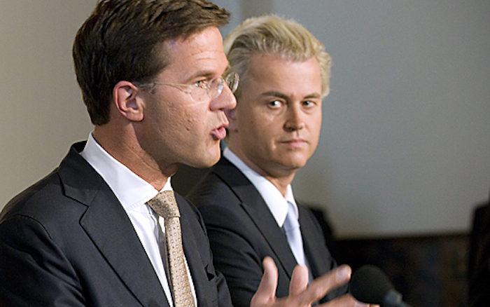 Mark Rutte en Geert Wilders, door Minister-president Rutte, via Flickr.
