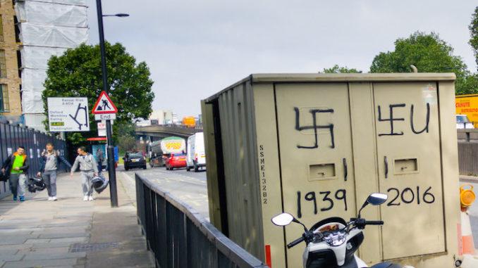 Brexit graffiti, door Ravi, via Flickr.