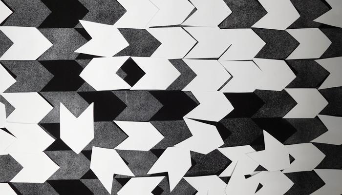 Een deel van een kunstwerk van Tiemen Visser, foto gemaakt door Judith van Werkhoven