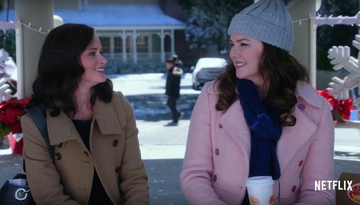 Screenshot van trailer van nieuwe serie Gilmore Girls, door Netflix, via YouTube.com