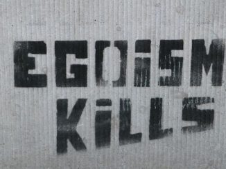 Foto: Egoism Kills, door Annelies, via Flickr.com