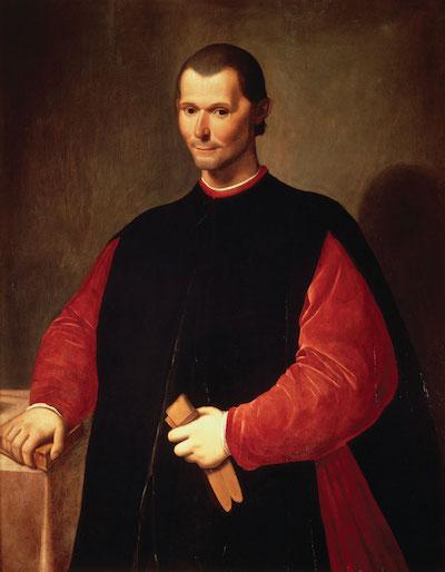 Foto: Machiavelli, door Santi di Tito, via Wikipedia.org.