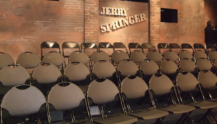 The Jerry Springer Show door Molly Marshall via Flickr.