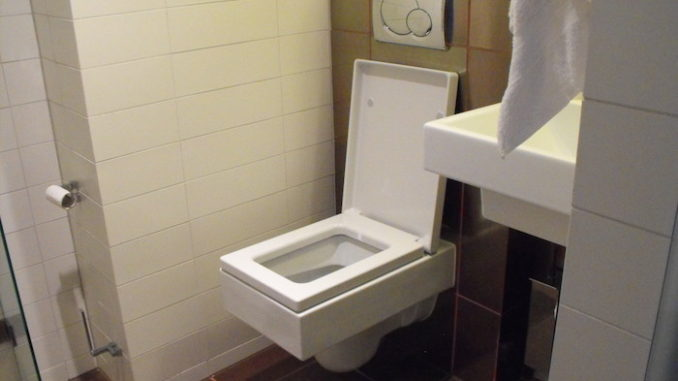 Square Toilet, door Eric Lumsden, via Flickr.