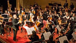 Carnegie Mellon Philharmonic performs Gustav Mahler's Symphony No. 5. Conducted by Ronald Zollman, door Jiuguang Wang, via Flickr.