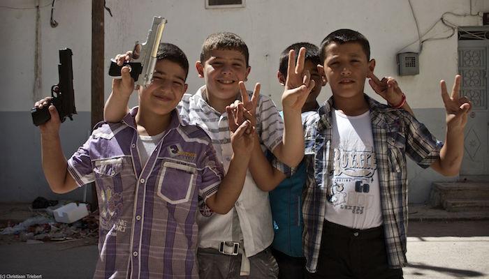 Azaz, Syria, door Christiaan Triebert via Flickr.