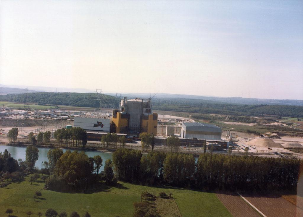 Superphenix nuclear power plant, Creys-Malville, Frankrijk. Via IAEA Imagebank op Flickr.