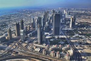 Uitzicht vanaf de Burj Khalifa door Adriaan Bloem via Flickr
