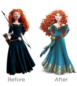 Merinda voor en na